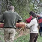 przygotowanie terenu pod wypas owiec (fot. M. Załuska)